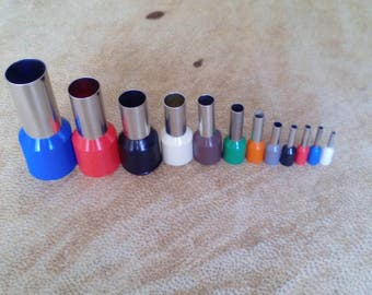 Set of 12 mini cutters. Polymerclay tools. Dot clay cutters. Clay tools.