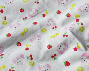 Cute baby knit fabric animal farm design knit fabric kid 39 s for Cute childrens fabric