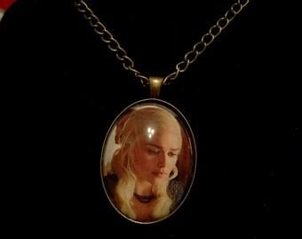 Game of Thrones Daenerys Targaryen Large Pendant