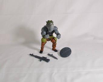 Rocksteady complete 1988 TMNT vintage Teenage Mutant Ninja Turtles
