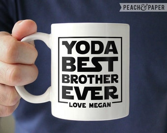 Brother Gift Brother Wedding Gift Star Wars Mug Funny Brother Gift ...