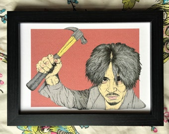 Oldboy Illustration Art Print