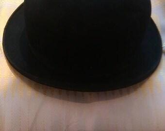 Antique featherlite bowler hat