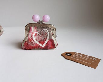 "Wallet ""Hanging heart"""