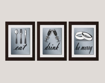 Eat Wall Art modern kitchen wall art shabby chic wall art eat and drink