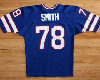 Vintage 90's Buffalo Bills #78 Bruce Smith Jersey SZ L