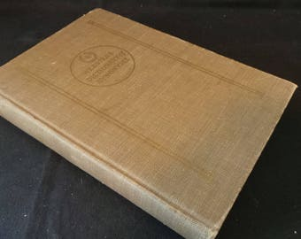 SALE Vintage 1942 Webster's Dictionary Of Synonyms Huge College Reference Book