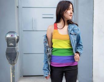 Gay Pride Tank Top, LGBT Clothing, LGBT Pride, LGBTQ Pride, Lesbian Pride, Gay Pride Vest, Lesbian T ank, Gay Pride, Unisex Tank Top