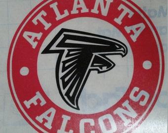 Atlanta Falcons Yeti Decal - Atlanta Falcons Tumbler - Atlanta Falcons Decal - Atlanta Falcons Gift - Atlanta Falcons - FREE SHIPPING!