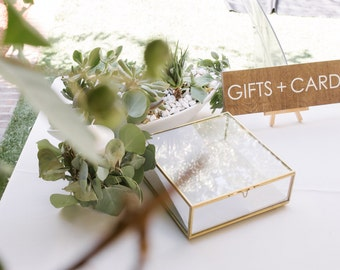 Gifts and Cards Sign - Modern - Wooden Wedding Signs - Wood
