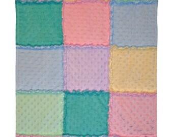 Minky Rag Blanket