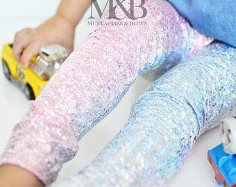 Unicorn leggings / unicorn birthday / hologram pants / toddler leggings / baby leggings / unicorn pants / pastel leggings / pastel outfit