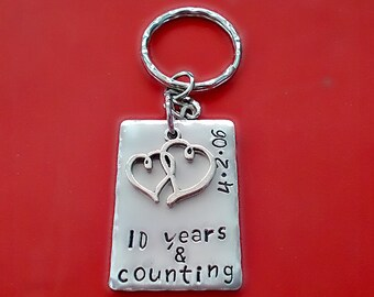 Aluminum 10 Year Anniversary Etsy