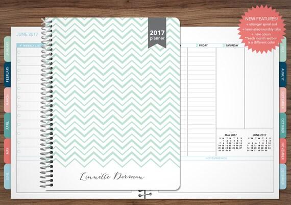 2017 2018 Planner Custom 2017 Planner Student Planner Vertical