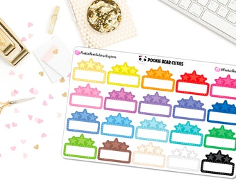 Movie Marquee Stickers -016
