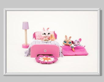 Toy Photography Print, Home Decor, Kids Room Decor Print, Nursery Room Decor Print, Toy Decor Print, Slumber Party Print