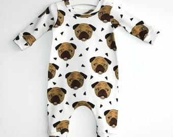 Baby Onepiece, Baby Romper Girl, Baby Romper Boy, Organic Cotton, Baby Romper, Organic Baby Clothes, Newborn Onepiece, Long Sleeve Romper