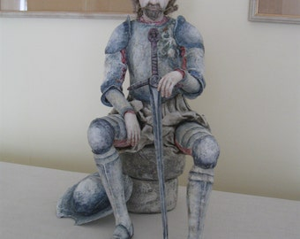 OOAK Art Doll Don Quixote