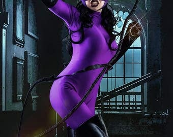 Catwoman Cosplay Jim Balent Cover