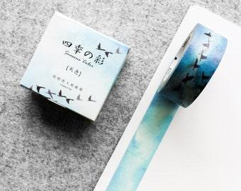 Cute washi tape - birds in the sky | Cute Stationery