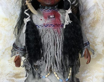 Ghost Witch Horror Doll