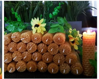 Beeswax Candlestick