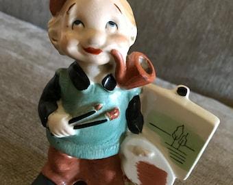 Charming Artist Figurine
