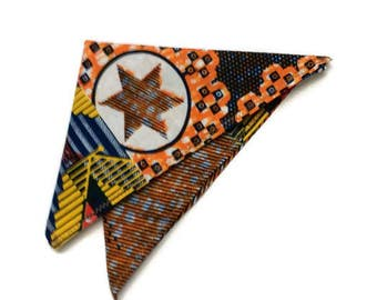 African Print Handkerchief, Mens Ankara Fabric Pocket Square, Ankara Clothing, African Dress Accessory, Gift For Him, Wedding, Birthday Gift