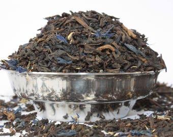 Decaffeinated Earl Grey  Black Tea  - Decaf Earl Grey Tea - Decaf Tea - Decaf Loose Leaf Tea - Tea - Tea Gift