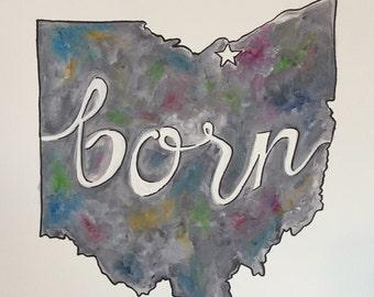 Born Ohio- Multicolor