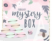 GLOSSY - February Mystery Box // Limited edition sticker kit and accessories