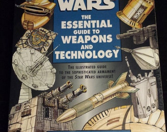Vintage 1997 First Edition Star Wars: The Essential Guide to Weapons and Technology