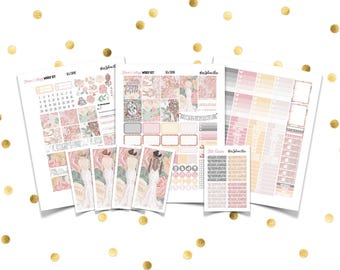 FOREVER & ALWAYS Weekly Kit // Printable Planner Stickers /Erin Condren Plum Paper Happy Planner Filofax Inkwell Press Wedding Bridal Spring