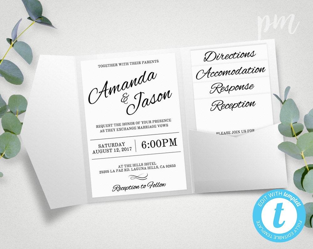 free sle pocket wedding invitations uk - 28 images - wedding table ...