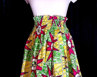 Ankara lively skirt
