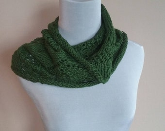 Emerald Forest Cowl Scarf