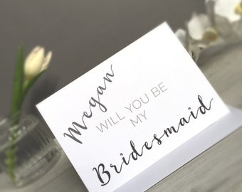Will You be My Bridesmaid Card,Will You Be Card,Bridesmaid Card,Bridesmaid Invite Card,Bridesmaid Invite,Will You Be Card,Bridesmaid Wedding