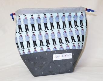 Sock Project Bag // Emily Sack // Pierre in Paris