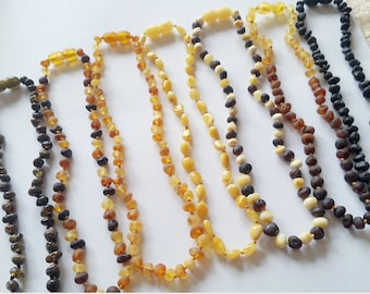 Baltic Amber Necklace  - 12.5 inch