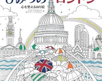Secret London Coloring Book For Adult