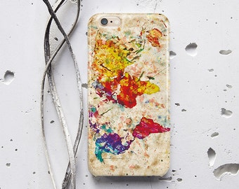 Colorful iPhone 6 Case Map iPhone 6s Case iPhone 7 Plus Case Samsung Note 5 Case iPhone 7 Case iPhone 5c Cover iPhone 5s Case iPhone 5 f024