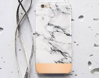 Marble iPhone Case White Marble Phone Case  iPhone 6 Case Marble iPhone 7 Marble Case iPhone SE Marble iPhone 6s Case Gold Gray Marble f197