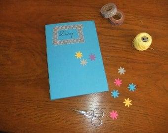 DiY: Blue binding kit