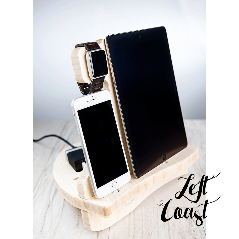 apple watch charging station dock iphone ipad stand android. Black Bedroom Furniture Sets. Home Design Ideas