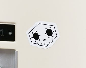 Sombra Skull Small Vinyl Sticker