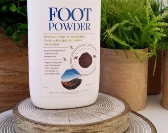 Herbal Foot Care / Antifungal / Foot Powder
