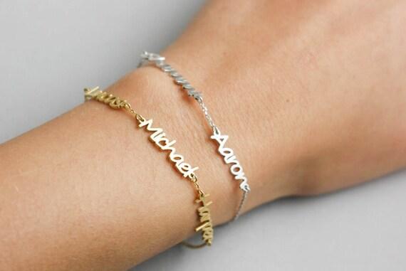 Kids Name Bracelet Custom Name Bracelet Name Bracelet