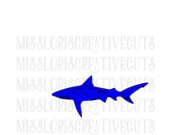 shark distressed SVG   cut file  t-shirts  antiquescrapbook vinyl decal wood sign cricut cameo Commercial use