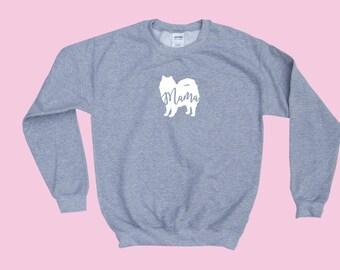 "American Eskimo ""MAMA"" - Fur Crewneck Sweatshirt"