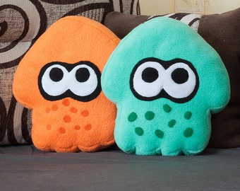 Splatoon squid pillow (all colors)